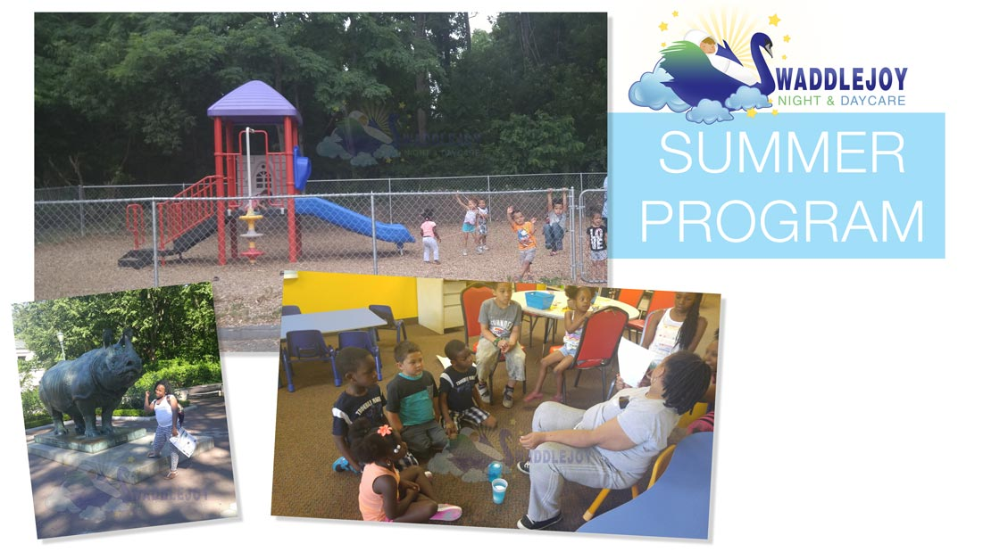 2017 - SwaddleJoy Night & Daycare - Summer Camp Program Sessions